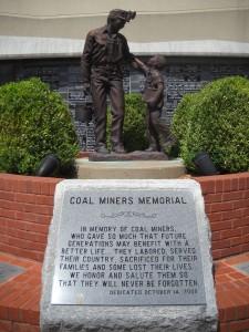 Herrin coal miners memorial