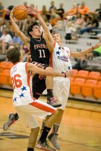 partita basket 3