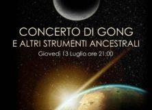 Concerto di GONG e altri strumenti ancestrali