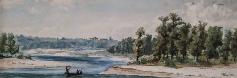 Dipingere per diletto a Cuggiono tra Otto e Novecento.